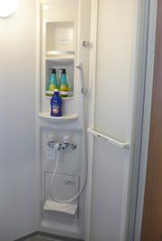 加須市の式場グラーテス加須のシャワールーム